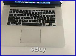 Apple MacBook Pro (Retina 15-inch Mid 2015) Core i7 2.2GHz, 256GB SSD, 16GB RAM