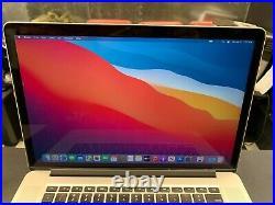 Apple MacBook Pro Retina 15 inch Mid 2015 Quad Core i7 2.5GHz 16GB RAM 256GB SSD