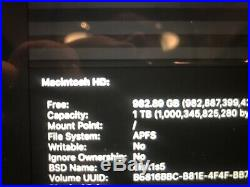 Apple MacBook Pro (Retina 15-inch mid 2015) 2.8 GHZ 16GB, 1TB SSD with Radeon R9