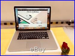 Apple MacBook Pro Retina 15A1398 Mid 2015 2.8GHz Core i7 16GB 512GB WithAppleCare