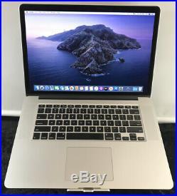 Apple MacBook Pro Retina Mid 2015 i7-4980HQ@2.8GHz 16GB 500GB SSD 15.4 Catalina