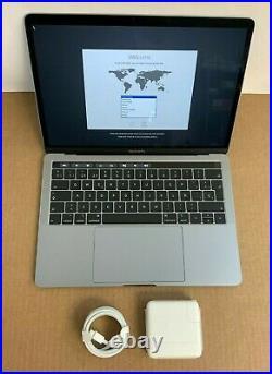 Apple MacBook Pro i5-8259U 2.3GHz 8GB 256GB 13.3R gray mid 2018 Spanish Keyboard