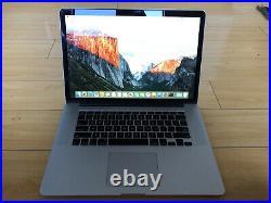 Apple MacBook Pro mid-2015 15.4 2.5 Ghz Intel Core i7 16G RAM 512G SSD