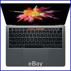 Apple Macbook Pro 13.3 TouchBar 16GB RAM 512GB SSD MPXV2LL/A Mid 2017 Gray