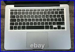 Apple Macbook Pro 13 A1278 Mid-2012 2.5GHz Core i5-3210M 4GB RAM No HDDTested