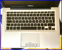 Apple Macbook Pro (13-inch Mid 2012) 2,50ghz i5 250gb SSD Superdrive TOP
