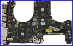 Apple Macbook Pro 15 A1286 Mid 2010 Logic Board with i7-620M 2.66Ghz CPU 661-6362