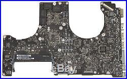 Apple Macbook Pro 15 A1286 Mid 2012 Logic Board w i7-3615QM 2.3Ghz CPU 661-6491