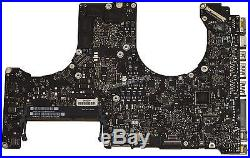 Apple Macbook Pro 15 MD104LL/A Mid-2012 A1286 Logic Board with i7 CPU 661-6492