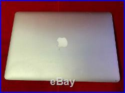 Apple Macbook Pro 15 Mid-2015 MJLQ2LL/A i7 4th Gen 2.5 16GB RAM NO SSD AS IS