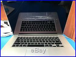 Apple Macbook Pro 15 Retina mid 2012 2.3ghz quad core i7 8gb ram 512gb SSD