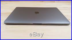 Apple Macbook Pro (15-inch, Mid 2017) 2.9 GHz Intel core i7 512GB SSD 16GB RAM