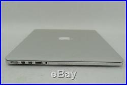 Apple Macbook Pro A1398 Mid 2014 15.4 Intel Core i7 2.5GHz 16GB 4870HQ NO HDD