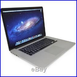Apple Macbook Pro MGXA2LL/A Retina 15 i7 4770HQ 2.2G 16GB 256GB SSD Mid 2014