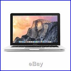 Apple Macbook Pro Md102ll/a Mid-2012 Silver I7-3520m 2.9ghz 8 Gb 13.3 750gb hdd