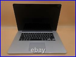 Apple Macbook Pro Mid-2015 15 A1398 i7-4770HQ 2.2GHz 16GB 256GB