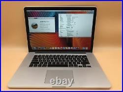 Apple Macbook Pro Mid-2015 15 A1398 i7-4870HQ 2.5GHz 16GB 512GB Radeon R9 M370X
