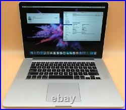 Apple Macbook Pro Mid-2015 15 A1398 i7-4980HQ 2.8GHz 16GB 512GB Radeon R9 M370X