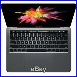 Apple Macbook Pro Mpxq2ll/a Mid-2017 Space Gray I5-7360u 2.3ghz 8 Gb 13.3 128gb