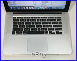 Apple Macbook Pro Retina 15 Mid 2015 2.5 i7 16GB 512 SSD Dual Graphics Grade B
