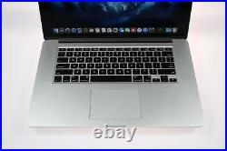 Apple Macbook Pro Retina Laptop 15.4 2.8 Ghz- 4.0Ghz i7 16GB 1TB SSD MID 2015