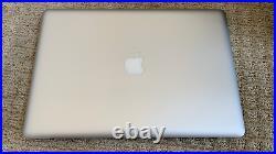 Apple Macbook Pro mid-2012 15 non-retina, 16GB RAM, 256GB SSD, i7 Quad-core