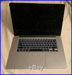 Apple Macbook Pro retina 15-inch mid-2015 Core i7 2.2 GHz 16GB RAM 256 GB SSD