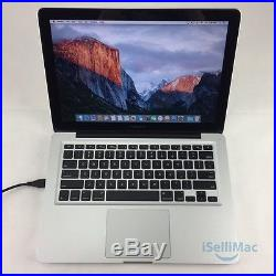 Apple Mid 2012 MacBook Pro 13 2.5GHz Core I5 128GB SSD 4GB MD101LL/A A1278