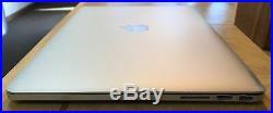 Apple Mid 2014 15 MacBook Pro Retina 2.8GHz i7/16 GB RAM/256 GB Flash/DG