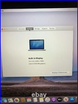 Apple macbook pro retina 13 mid 2013 2.4GHz 8GB 128GB SSD Read Description