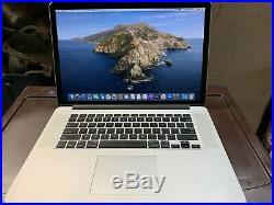 Great Apple MacBook Pro 15 Retina Mid 2014 512GB SSD 16GB 2.5GHz i7 New Battery