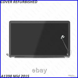 LCD Display Assembly Replacement for Apple MacBook Pro Retina 15 A1398 Mid-2015