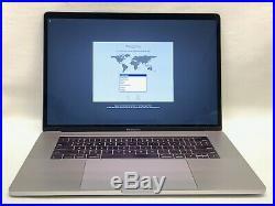 Loaded Mid-2018 Macbook Pro 15 I7 2.6 Hexa 16gb 512gb Radeon Pro 560x Mr942ll/a