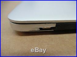 MACBOOK PRO A1398 MID-2014 i7-4770HQ 2.20GHz 16GB RAM FOR PARTS/REPAIR