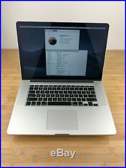 MINT 15 Apple MacBook Pro 2.2GHz Core i7 (Mid 2015) 16GB RAM, 1TB SSD, 1 Cycle