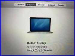 MINT 15 Apple MacBook Pro 2.8GHz Core i7 (Mid 2015) 16GB RAM, 1TB SSD, 5 Cycles