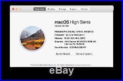 MINT Macbook Pro Retina 15 Mid 2015 i7 2.5GHz 16GB 500GB AMD RADEON R9 M370X