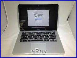 MacBook Pro 13 Mid 2012 2.5 GHz Intel Core i5 4GB 500GB HDD Fair Condition