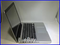 MacBook Pro 13 Mid 2012 2.9 GHz Intel Core i7 8GB 750GB HDD Fair Condition