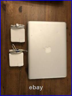 MacBook Pro 13 Mid 2012 2.9 GHz Intel Core i7 8GB 750GB HDD Working Condition