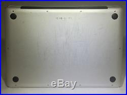 MacBook Pro 13 Mid 2012 MD101LL/A 2.5GHz i5 4GB 500GB Fair Condition