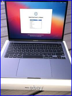 MacBook Pro 13 Space Gray Mid 2020 1.4 GHz i5 8GB 256GB Excellent Condition