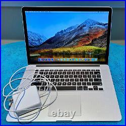 MacBook Pro 15-Inch Core i7 2.7 Ghz, Mid-2012 Retina 16GB 500GB