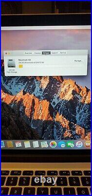 MacBook Pro 15 Mid 2015 2.2Ghz i7 Retina 16GB RAM 256GB SSD A1398 Near Mint