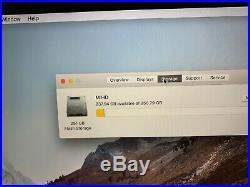MacBook Pro 15 Retina Mid 2014 2.2 GHz Intel Core i7 16GB 256GB Fair Condition