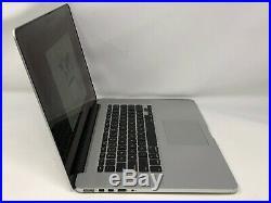 MacBook Pro 15 Retina Mid 2014 MGXG2LL/A 2.8GHz i7 16GB 512GB Fair Screen Wear