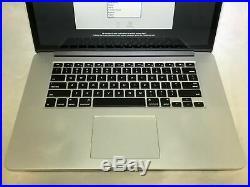 MacBook Pro 15 Retina Mid 2015 2.8GHz i7 16GB 1TB Good Condition