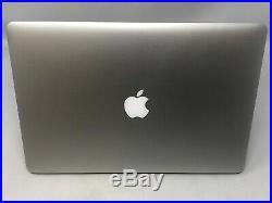 MacBook Pro 15 Retina Mid 2015 2.8GHz i7 16GB 1TB SSD Intel Iris GFX Fair Cond