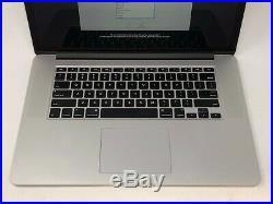 MacBook Pro 15 Retina Mid 2015 MJLQ2LL/A 2.2GHz i7 16GB 256GB Good Condition