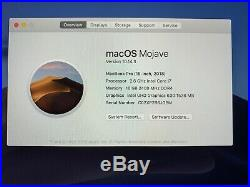 MacBook Pro 15-inch Mid 2018 2.6 GHz i7 512GB SSD 16GB RAM Original Box